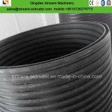 Espiral plástico PE aumentar la producción de extrusión de tubo de drenaje de la máquina