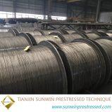 Brin non-enduit 9.53mm de fil d'acier de la pente 270 d'approvisionnement d'usine de Sunwin