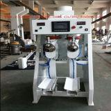 La máquina de rellenar Drilling de bolso de la válvula del yeso de la hélice doble