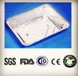 Utilisation de poulet à l'élimination du bac d'aluminium