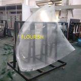 Heiße Schlaufen-lamelliertes Glas für Windfänge/Türen/seitliche Gläser