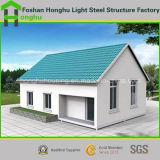 Villa d'acciaio domestica prefabbricata prefabbricata della Camera del singolo piano della Camera