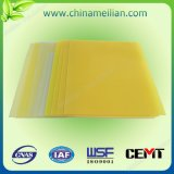 Strato a resina epossidica dell'isolamento del laminato del panno di vetro
