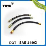 De rubber PUNT van Yute van de Slang keurde 3/8 RubberSlang van de Rem van de Lucht goed