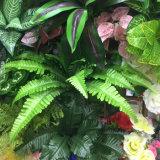 Verde artificial sintético de pared Jardín Vertical para la boda de la oficina del Centro Comercial Hotel tienda de decoración de interior paisajismo exterior