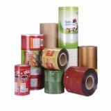 La personalización de plástico de embalaje de alimentos rollos de película impresa