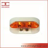 De amber Stroboscoop die van de Rotator Lichte Staaf (TBD04451) waarschuwen