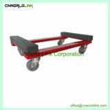 Aço de carga pesada 4 rolo de pneus sólidos Movimentador Dolly