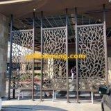 Декоративная высекая панель загородки металлического листа для сада с высоким качеством