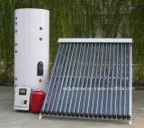 Aquecedor de água dividida solar pressurizado com bobina dupla