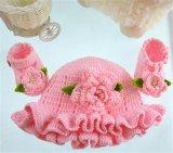 아기 신발을%s 귀여운 Handmade 크로셰 뜨개질