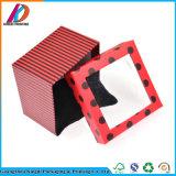 Коробка вахты бумажного подарка способа упаковывая бумажная с подушкой