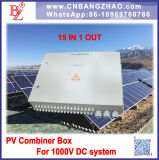 15 en 1 hacia fuera rectángulo del combinador del sistema eléctrico 1500VDC para de la red o en sistema del inversor de la red