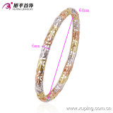 最も新しいXuping Fashion Nice Multicolor Environmental Copper -51404のStone無しWomen Bangle