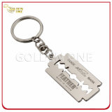 Fashion Nickle Plating Fake Crocodile Leather Keychain