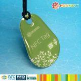 Barcodedrucken RFID MIFARE klassische Epoxidkeychain 1K Marken