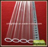 Tubo di vetro fuso alta qualità del quarzo del silicone dell'ozono liberamente