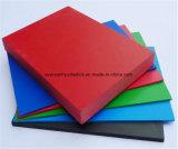 Scheda di bordatura bianca & colorata della gomma piuma del PVC del soffitto della scheda della gomma piuma del PVC