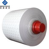 Rouge Bleu Blanc argent feuille en aluminium à revêtement de couleur pré-peint pour les murs de la bobine