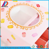 Al horno de panadería popular dulces cookies/Embalaje/Chocolate Caja con ventana transparente