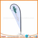 安いポータブル自由なデザイン耐久の上陸海岸表示旗