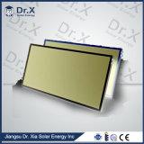 Painel solar da água da aleta de alumínio de cobre da tubulação