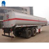Três eixos petroleiro líquido inoxidável Trailer de Combustível