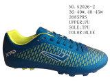 Numéro 52026 Football Stock Shoes vert et bleu des hommes et de la Madame