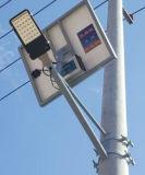 Lumière solaire extérieure de réverbère de lumens élevés solaires de catalogue des prix
