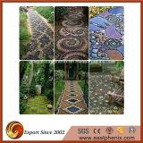 홈 또는 Gareden 벽 마루 도와를 위한 자연적인 돌 백색 또는 Gery 또는 베이지색 노란 모자이크 물자