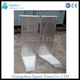 Barrière en aluminium d'étape, barrière de police, glissière de sécurité extensible