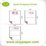Alta calidad 3ply NCR de papel de impresión del ordenador