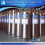 Horizontale Cryogene Vloeibare cilinder-Dpw410L 499L 1.59/2.5/3.45MPa