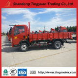 4× 2대의 HOWO 가벼운 의무 트럭 LHD 4200× 1900mm× 400mm 화물 차원