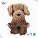 승진을%s 귀여운 최신 판매 브라운 견면 벨벳 강아지에 의하여 채워지는 개 장난감