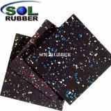 Mixed Color Waterproof Gym Flooring
