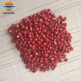 Masterbatch de color rojo de plástico para productos de plástico