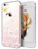 De diamant schilderde het Zachte Geval van de Rugdekking van het Silicone TPU voor iPhone van de Appel 6/6s/6s Plus/6 plus