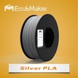 1,75 мм PLA лампы накаливания для 3D-принтер серебристый цвет