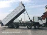 Caminhão Basculante 371HP 8*4 caixa de carga