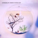 Акрил мини аквариум рыбы бака стекло Plexi чаша для украшения