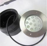 montaggi subacquei dell'indicatore luminoso del raggruppamento di colore LED di 36W DC24V RGB&Single