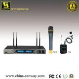 Canais duplo Microfone sem Fios UHF (8243)