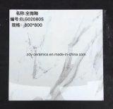 Steen van de Tegel van het Porselein van het Bouwmateriaal poetste de Witte Marmeren Natuurlijke de Verglaasde Tegel van de Vloer op