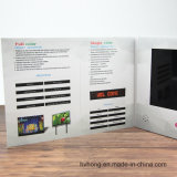 Fábrica chinesa Brochura de vídeo de 7 polegadas com ecrã de vídeo