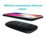 Nuevo diseño plegable rápida cargador inalámbrico G600 para teléfono celular 3 bobinas