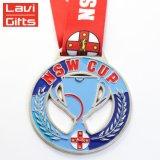 Haut de la vente personnalisée Sport Style de la Médaille de la Coupe du médaillon et des trophées