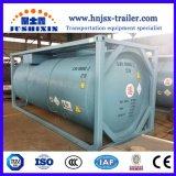 20FT utilizado gás/gás liquefeito gás Chorline Recipiente do tanque de armazenamento de ISO
