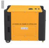 5 квт портативный Air-Cooled бесшумный дизельный генератор
