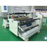 Haute précision étiquette automatique de rouleau de papier autocollant coupeuse en long